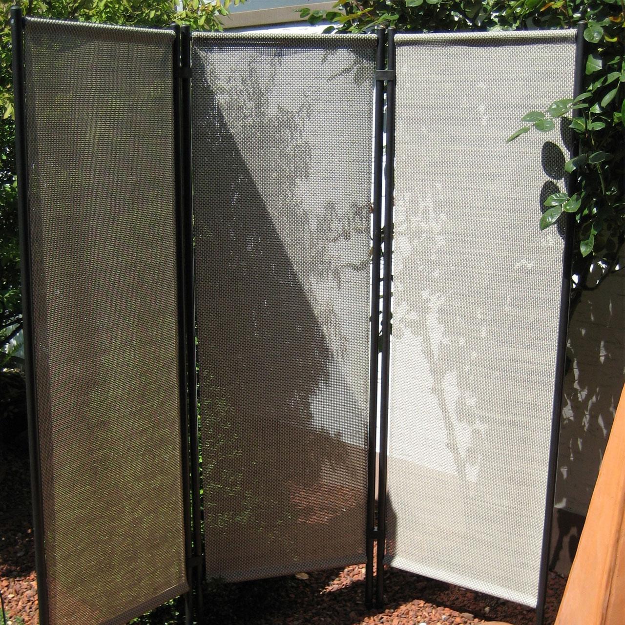 paravent klassik 3 teilig natur. Black Bedroom Furniture Sets. Home Design Ideas