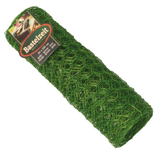 Basteldrahtgewebe, witterungsbeständig, grün