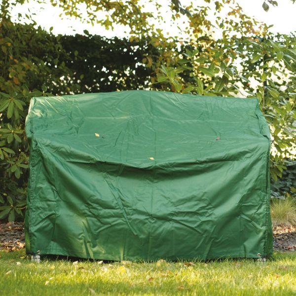 Gartenmöbel-Schutzhülle Gartenbank, grün