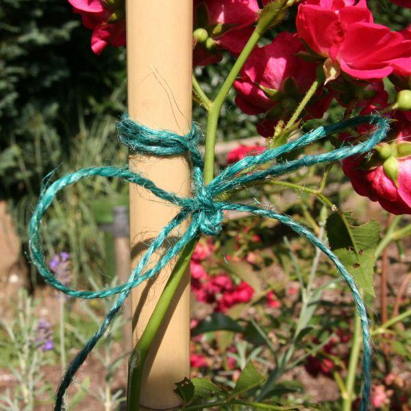 Gartenschnur, Jutekordel grün