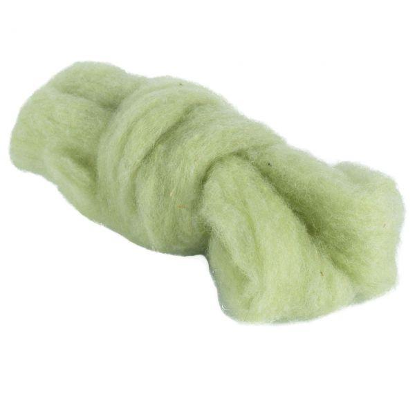 Woll-Lunte, Ø 3-4mm, lindgrün
