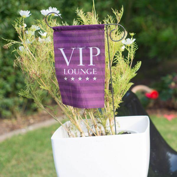 Blumenstecker VIP-Lounge