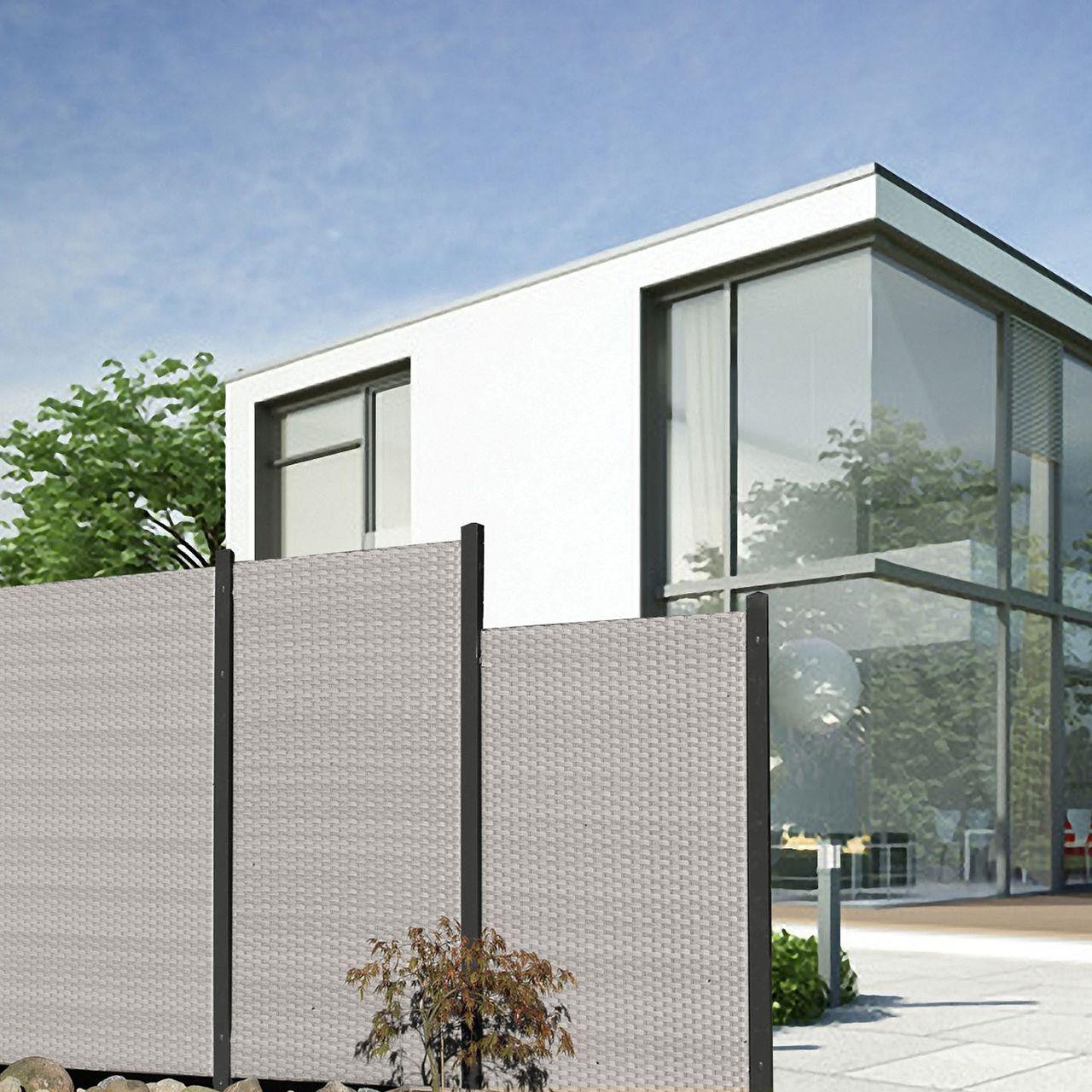 sichtschutz balkon seitlich ohne bohren elegant balkon sichtschutz plexiglas fur windschutz. Black Bedroom Furniture Sets. Home Design Ideas
