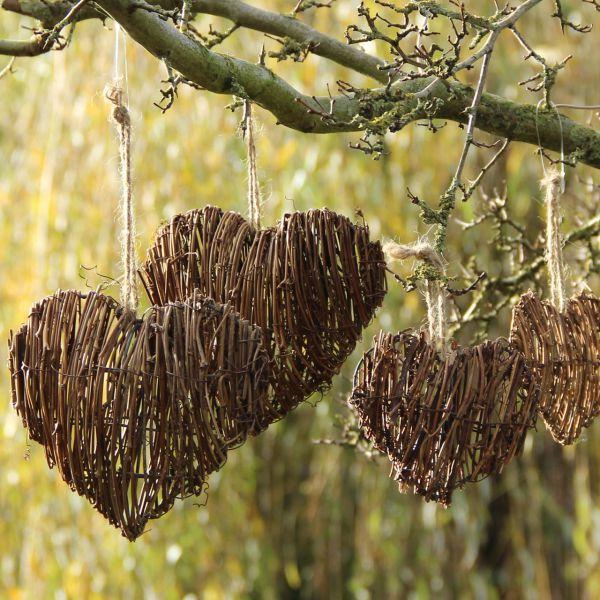 Deko-Hänger Herz Nele, natur