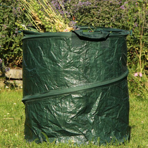Gartensack PopUp PE-Gewebe, grün