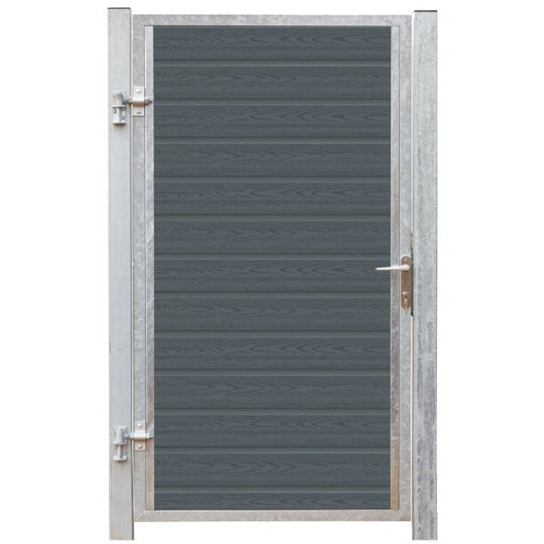 WPC Sichtschutz Tür, Artura anthrazit