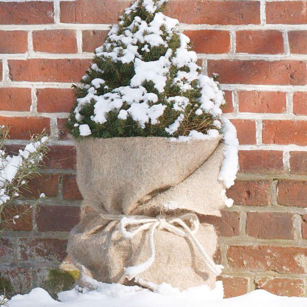 Jutematte Winterschutz natur