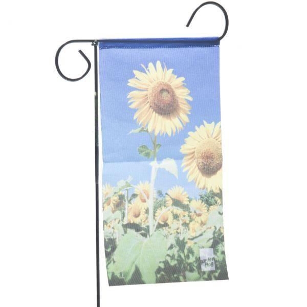 Gartenfahne - Blumenstecker Sonnenblume