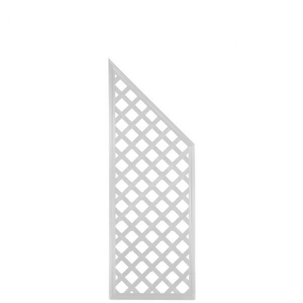 Sichtschutzwand Kunststoff Coventry, Classic Abschlusselement