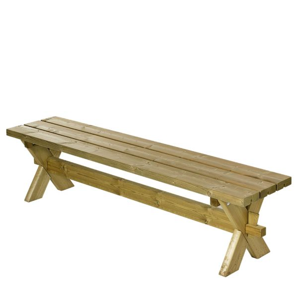 Gartenbank Holz NOSTALGIE