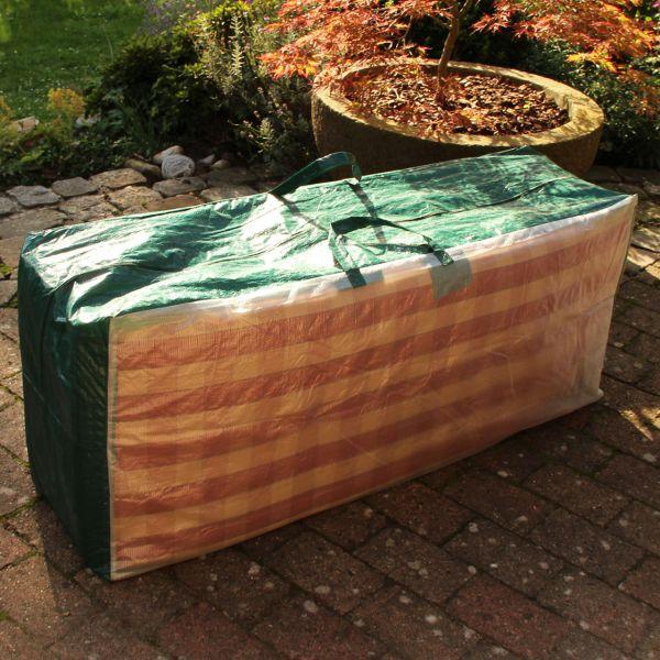 Tasche PE für Gartenmöbelauflagen, grün