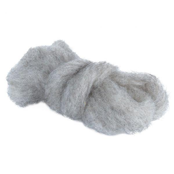 Woll-Lunte, Ø 3-4mm, stein-grau