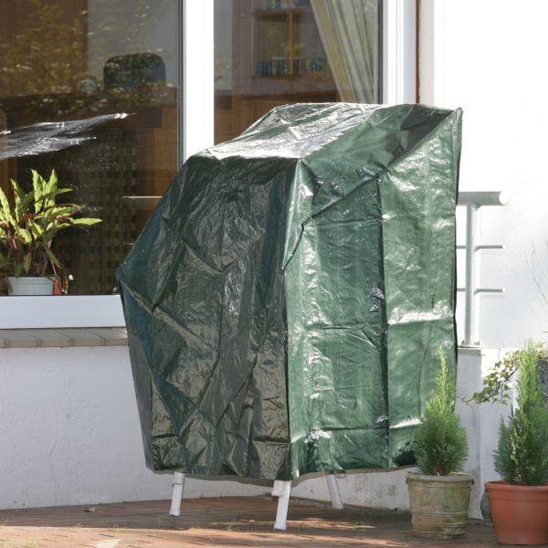 Schutzhaube PE Stapelstühle, grün