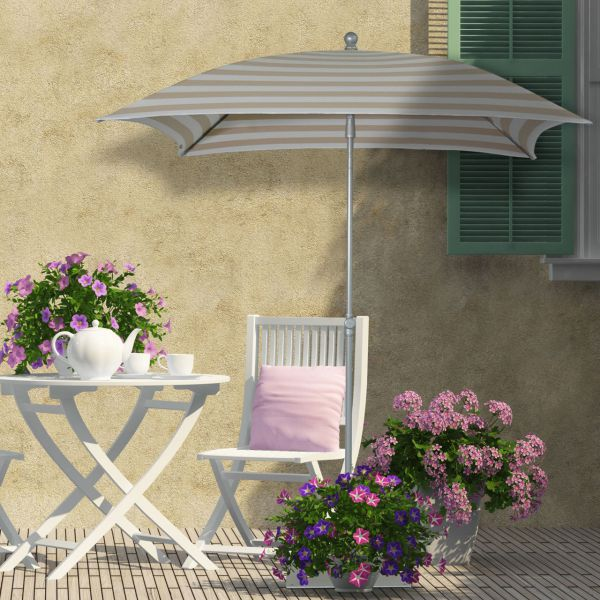 DEA Sonnenschirm IBIZA, quadratisch 180 x 180cm