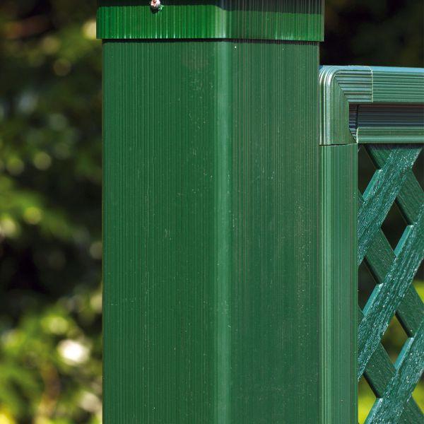 Kunststoff-Pfosten Coventry, grün