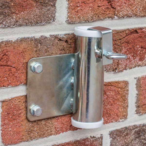 Sonnenschirmhalter Videx® für die Wand, verzinkt