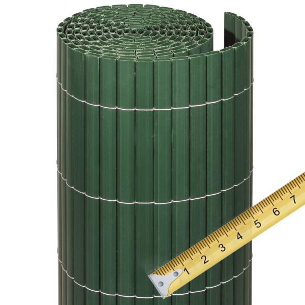 Sichtschutzmatte Kunststoff Meterware, Rügen grün