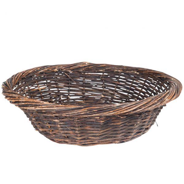 Weidenkorb flach Sienna, natur